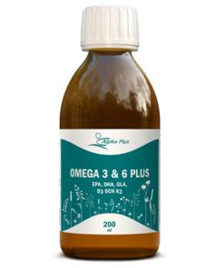 Omega 3 & 6 plus